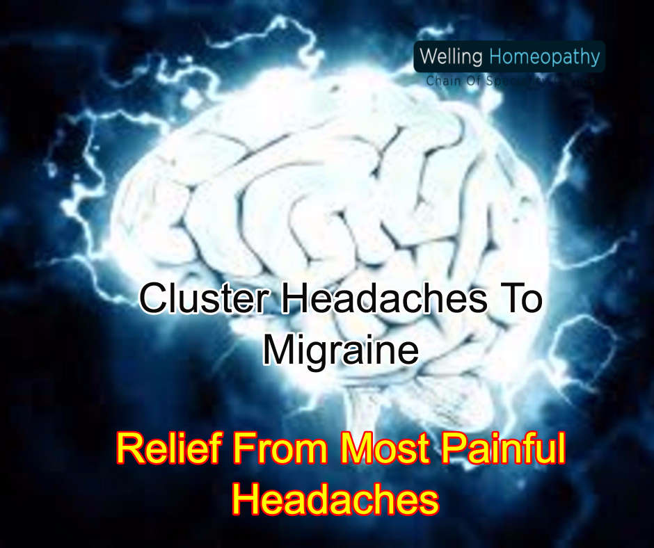 Cluster Headaches To Migraine: Relief From Most Painful Headaches 1