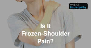 Frozen Shoulder Treatment at Welling Homeopathy