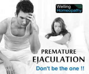 Homeopathy Treatment of Premature Ejaculation