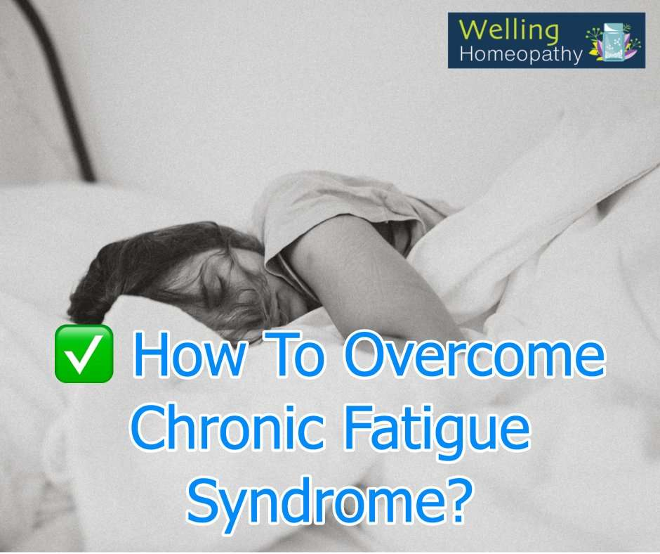 homeopathy treatment of chronic fatigue syndrome